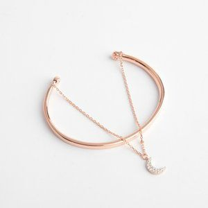 Henri Bendel Diamond Crescent Bracelet